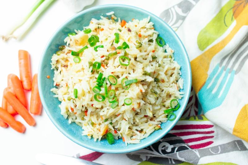 RECEPT: Ryža + vajcia = vyprážaná ryža s vajíčkom